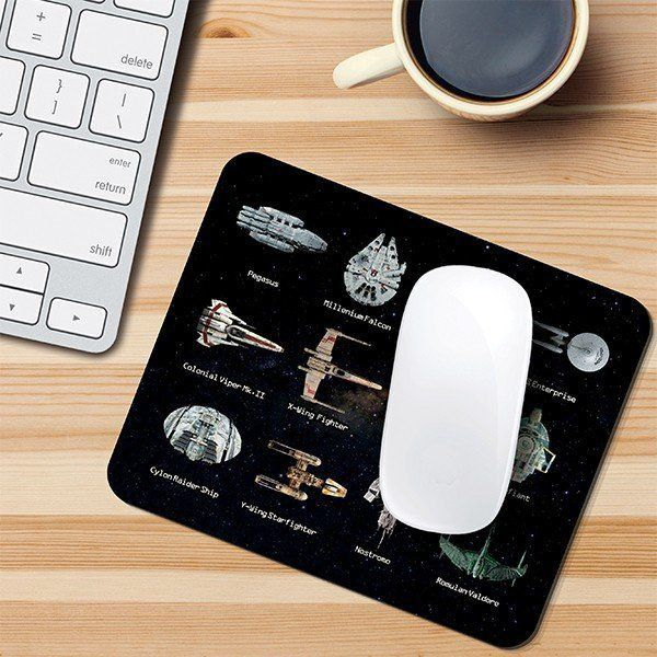 Mousepad Naves Sci-Fi - Mouse pad Star Wars