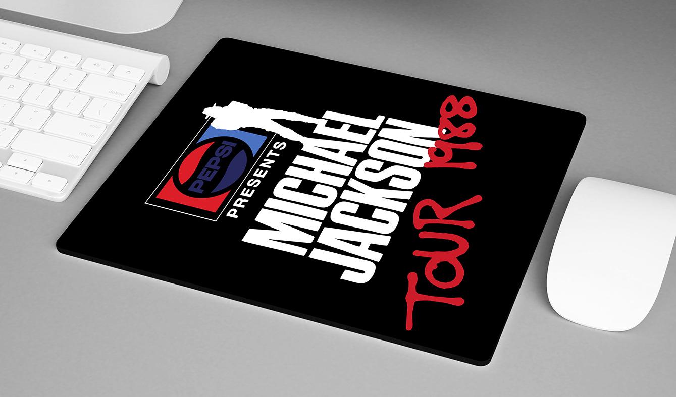 Mousepad Pepsi Presents Michael Jackson Tour 1988 - EV