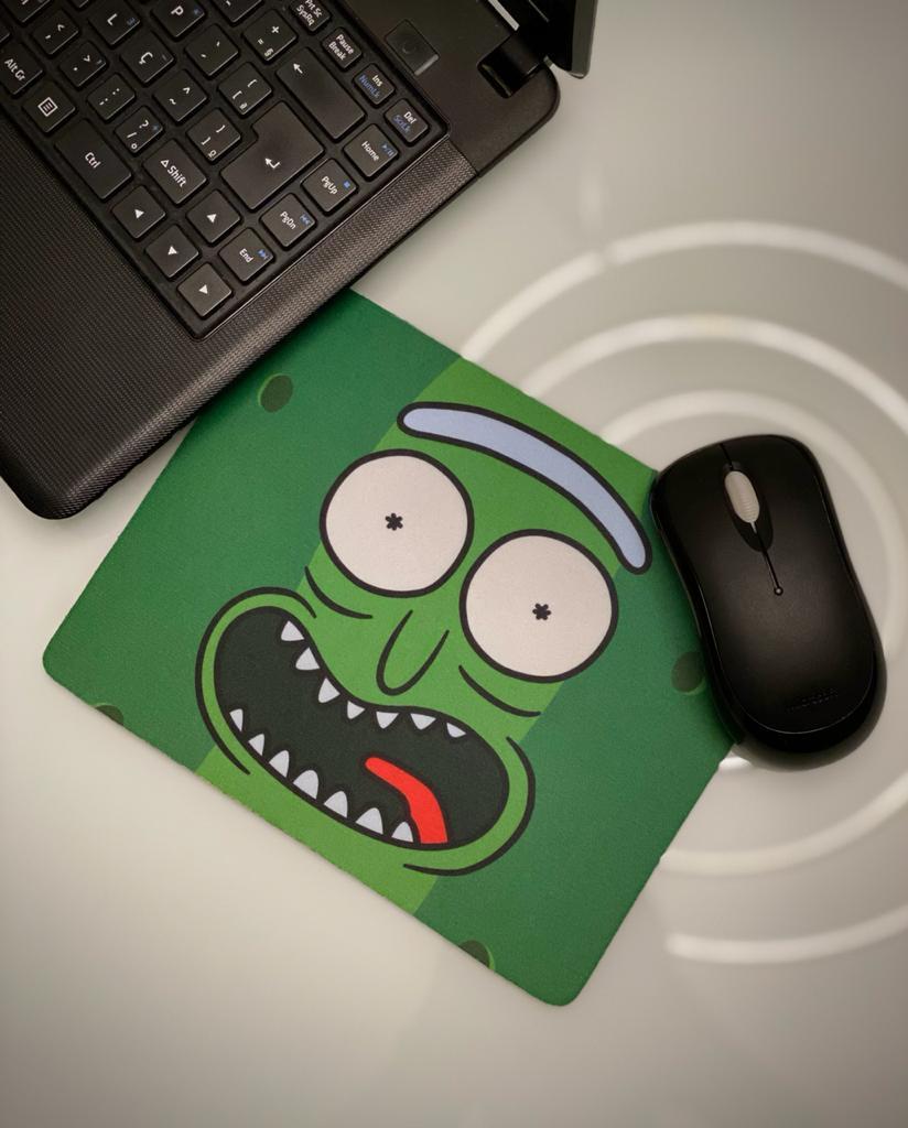Mousepad: Picles Rick ( Rick and Morty ) - Mouse pad