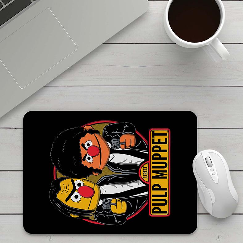 Mousepad Pulp Fiction The Muppets Babies Street Pulp Muppet - EV