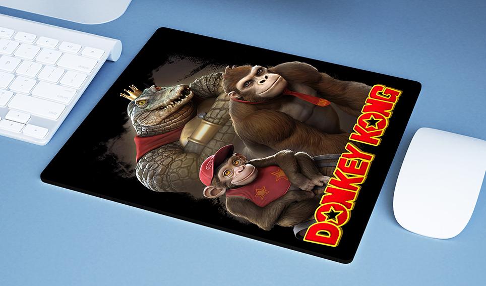 Mousepad Realistic: Donkey Kong - EV