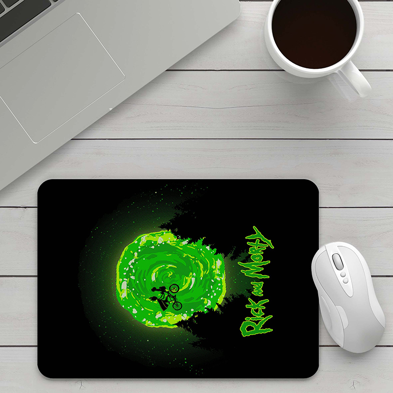 Mousepad Rick And Morty Et Extraterrestre Universo Paralelo - EV