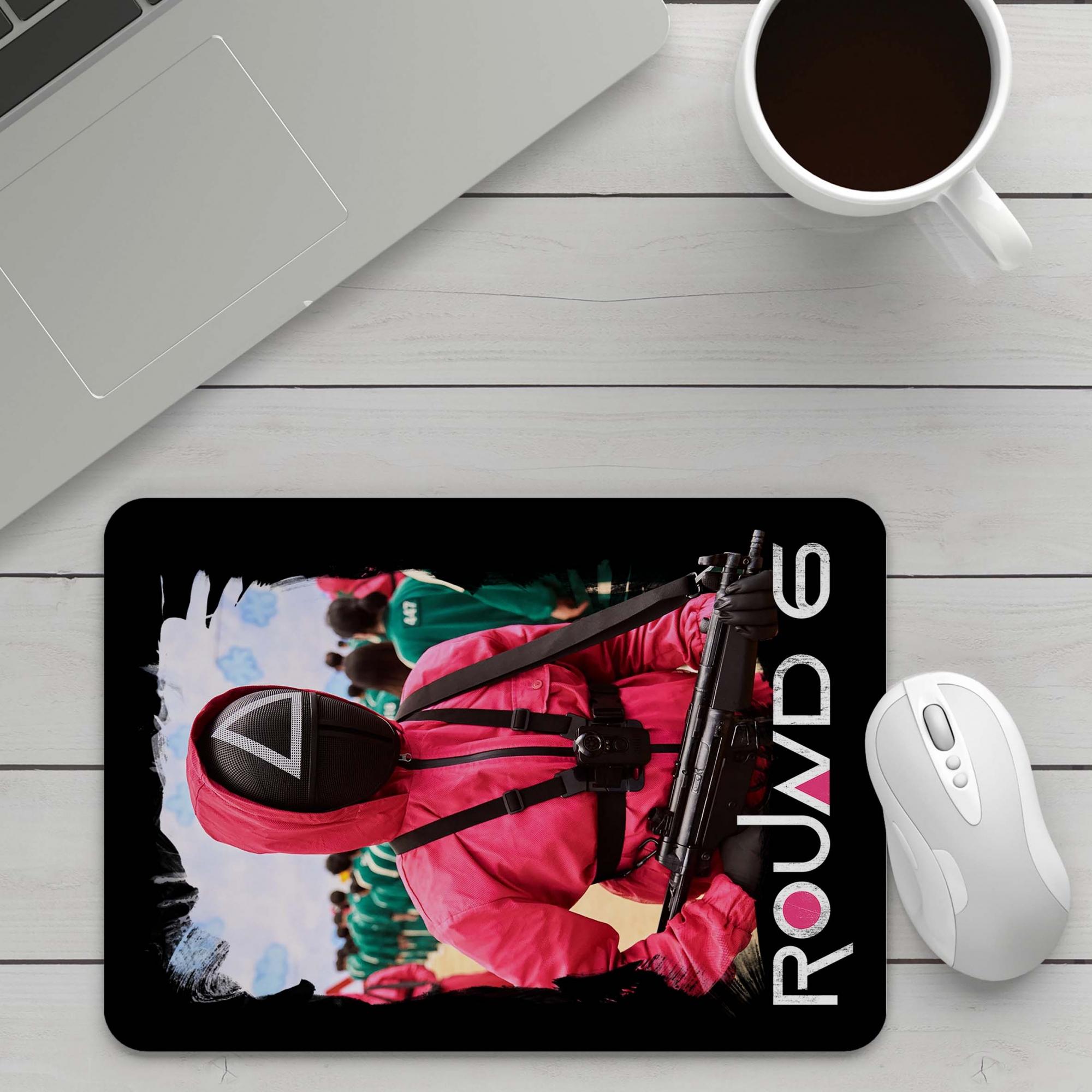 Mousepad Round 6 Squid Game Netflix - EV
