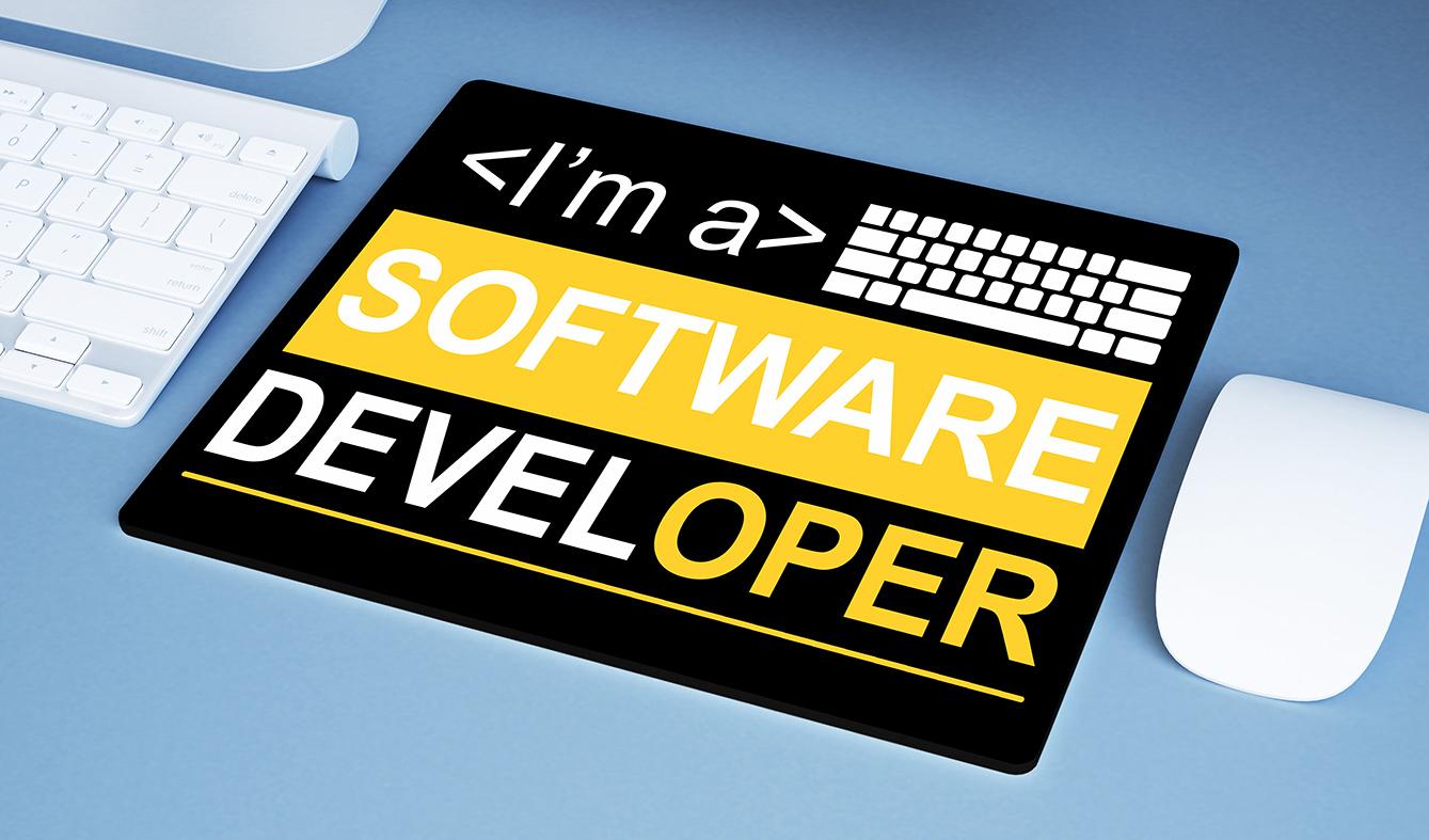 Mousepad Sou Um Desenvolvedor De Software I'm A Software Developer Dev - EV
