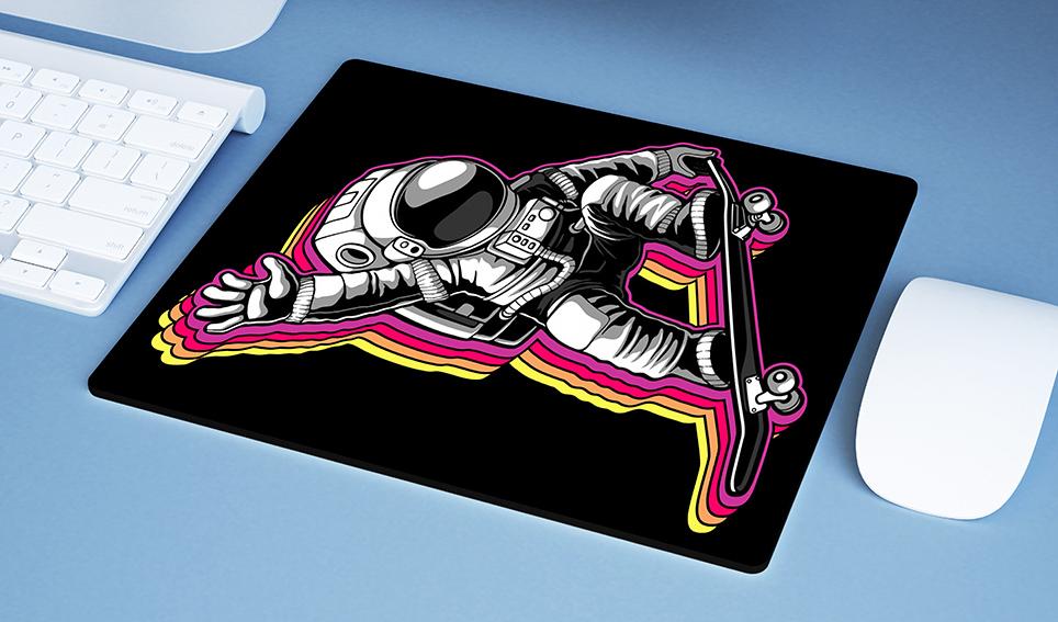 Mousepad Space Nasa Skate Astronauts Astronauta - EV