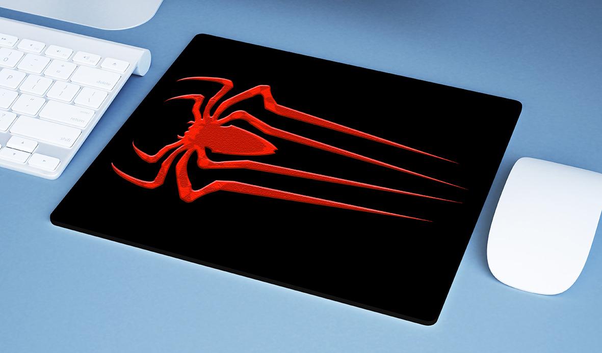 Mousepad Spider Man Logo Homem Aranha Marvel - EV