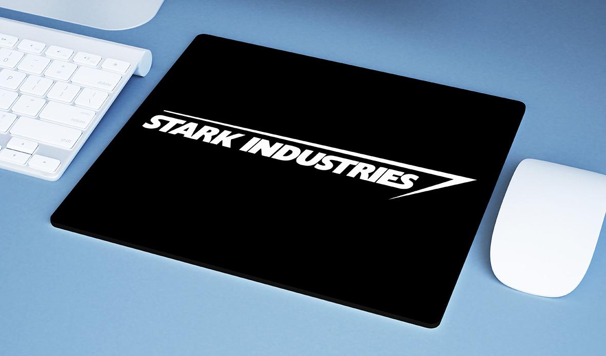 Mousepad Stark Industries Iron Man Tony Stark Indústrias Homem De Ferro Vingadores - EV