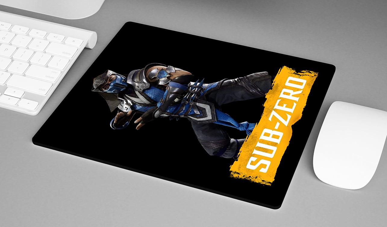 Mousepad Sub Zero: Mortal Kombat 11 - EV