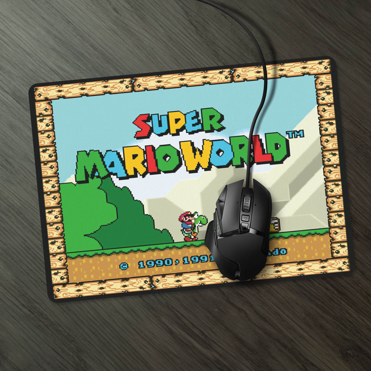Mousepad: Super Mario World - Mouse pad