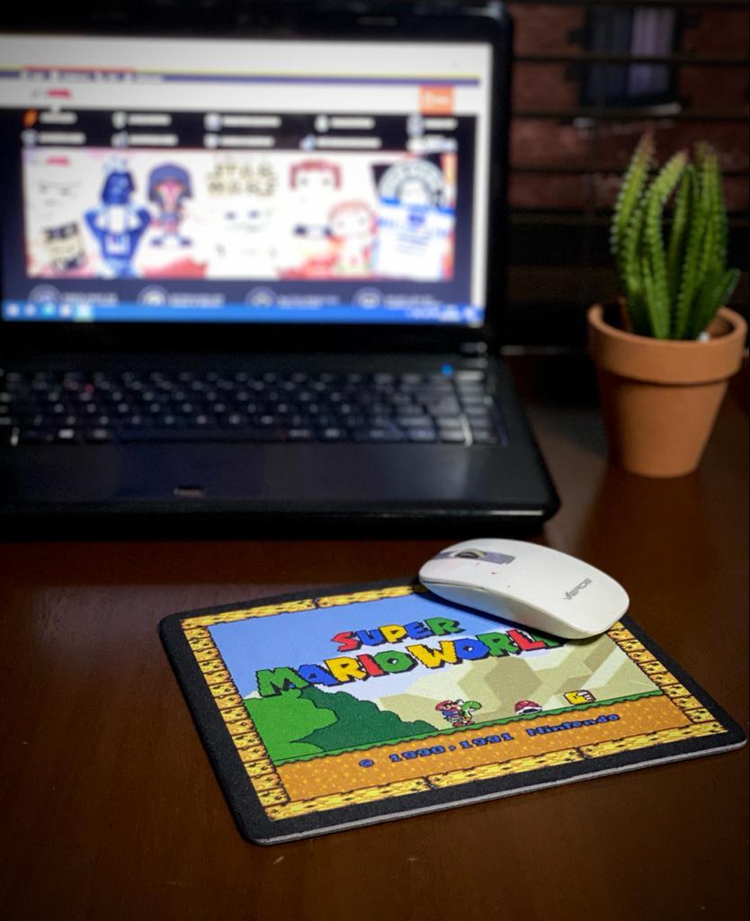 Mousepad: Super Mario World - Mouse pad - EV