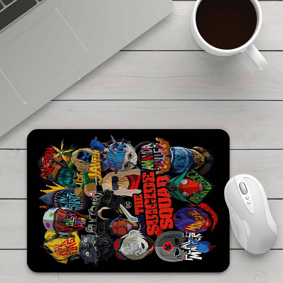 Mousepad Super Vilões O Esquadrão Suicida The Suicide Squad DC Comics - EV