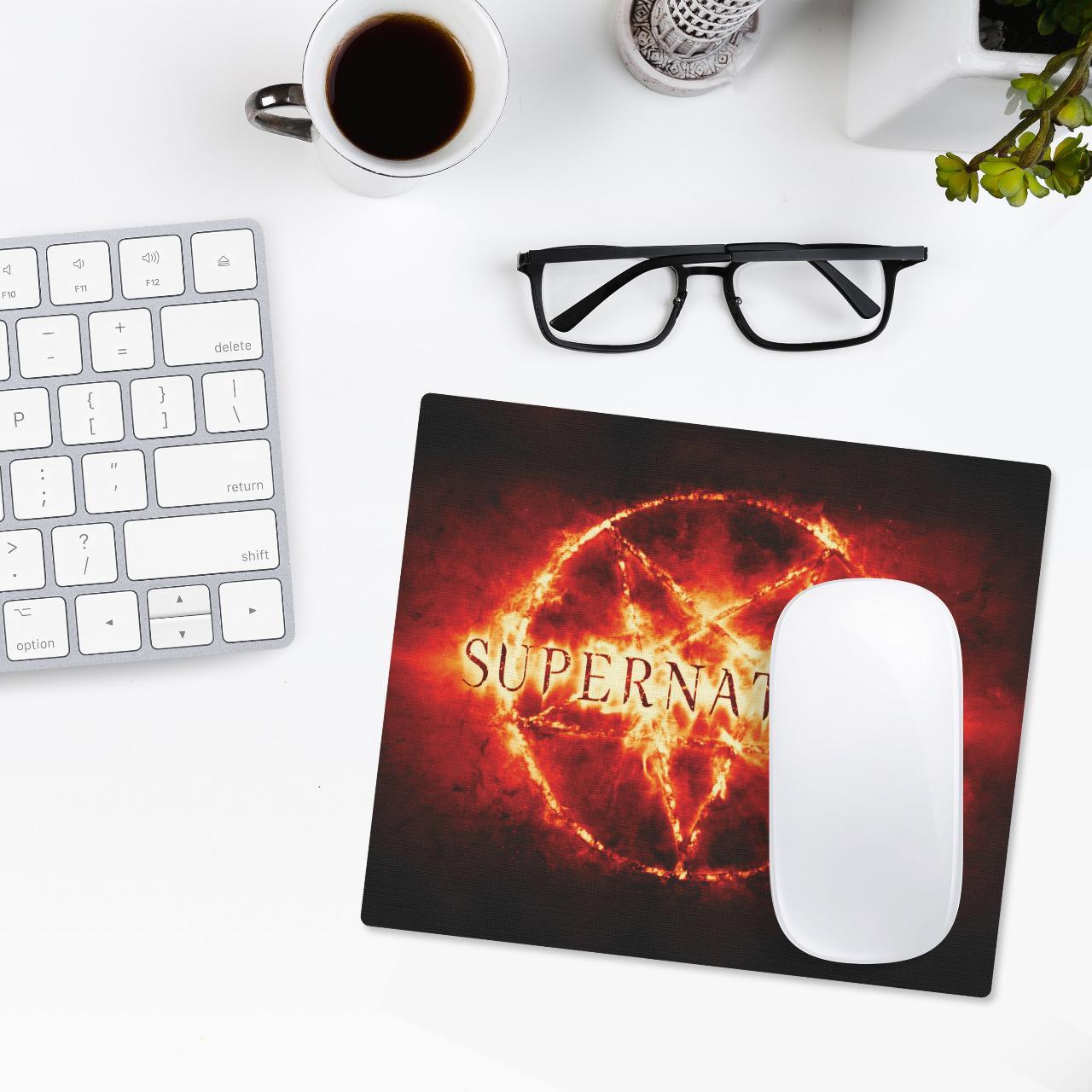 Mousepad: Supernatural - Mouse pad