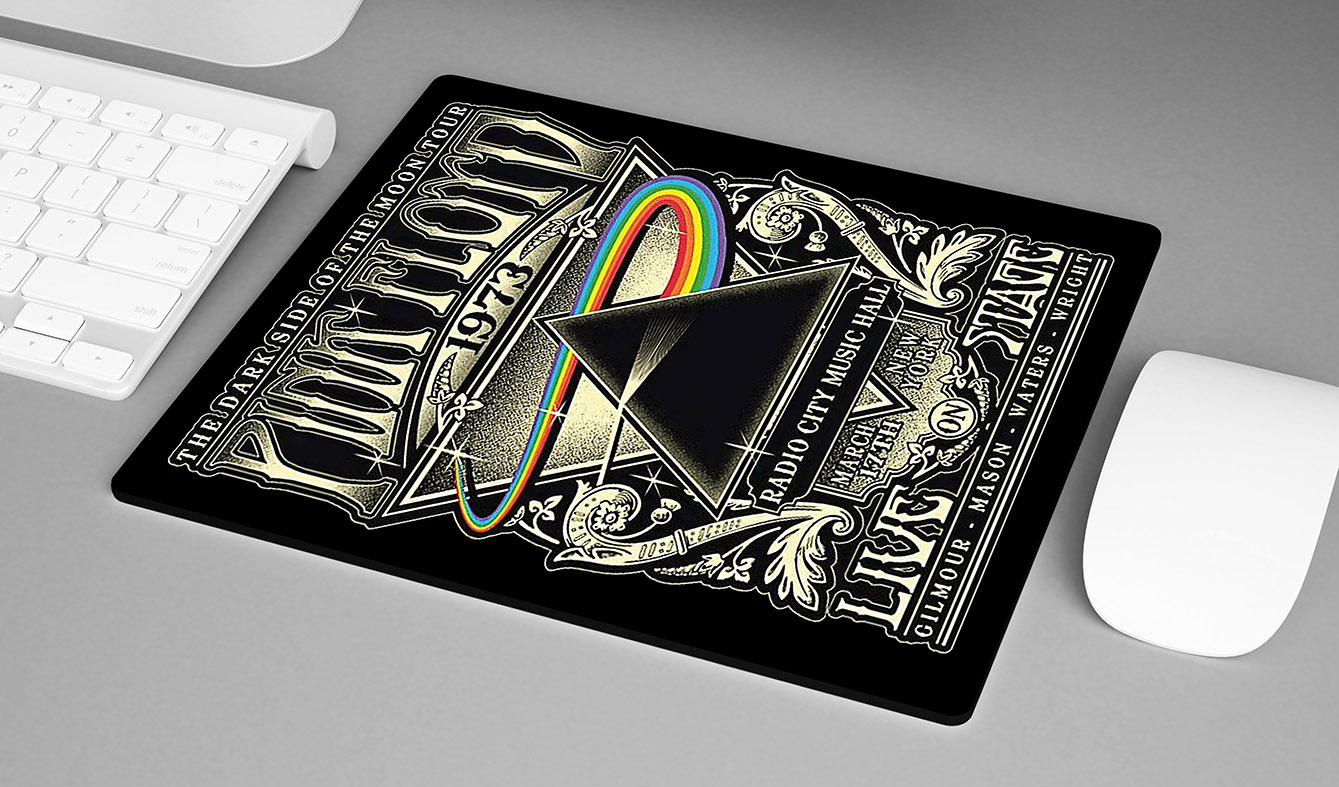 Mousepad The Dark Side Of The Moon Tour Pink Floyd Live On Stage - EV
