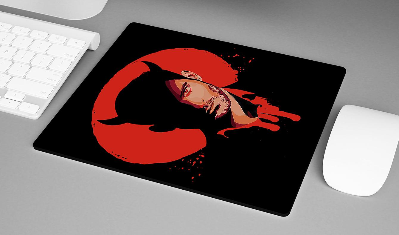 Mousepad The Devil Lucifer Morningstar Netflix - EV