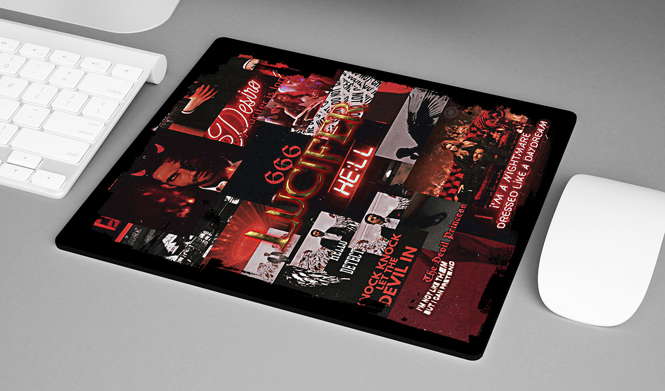 Mousepad TV Shows The Devil Lucifer Morningstar Netflix - EV
