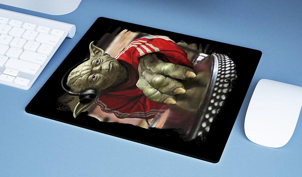 Mousepad Yoda Night Dj Music: Star Wars - EV