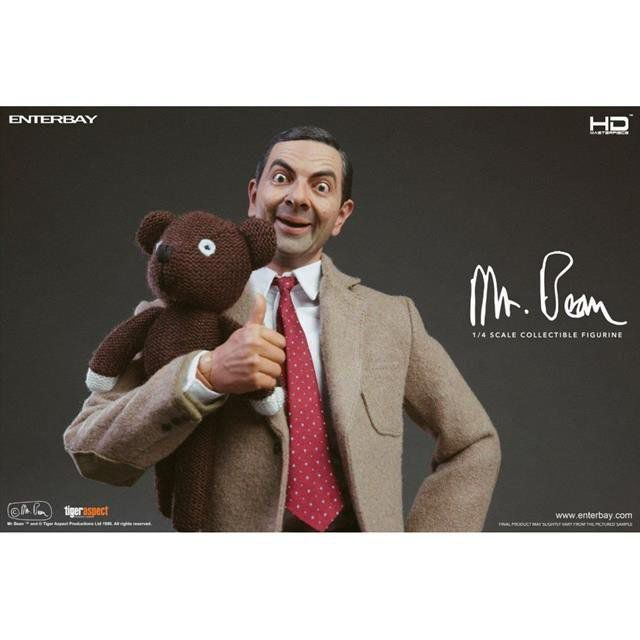 Mr. Bean  HD Masterpiece Escala 1/4 - Enterbay
