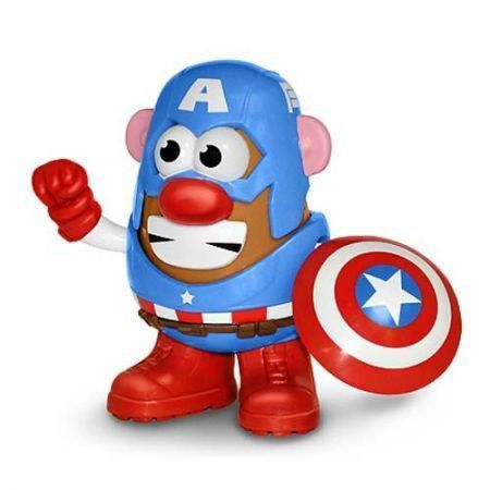Mr Potato Head Marvel Comics Capitão América - PPW Toys