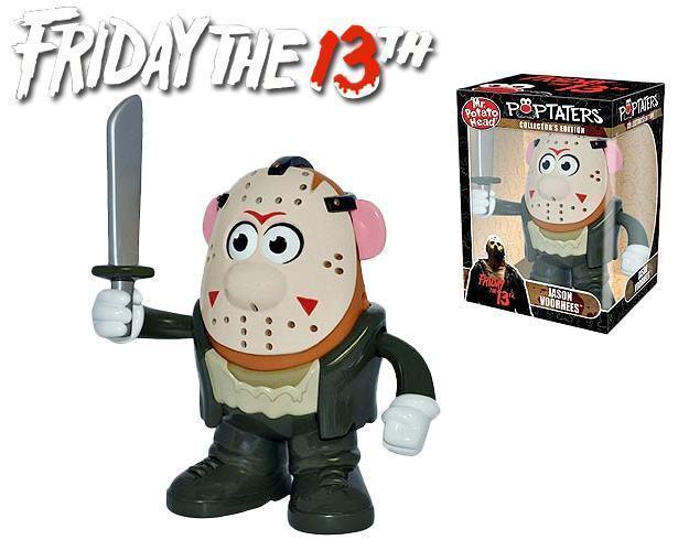 Mr Potato Head: Sexta Feira 13 Cabeça de Batata Jason - PPW Toys