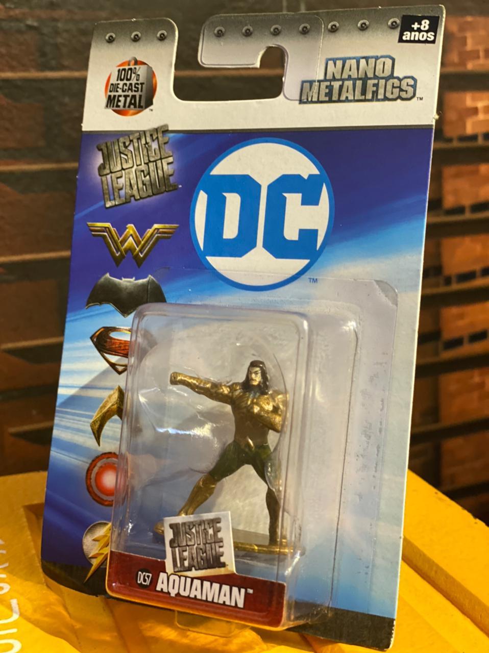 Nano Metalfigs Aquaman: DC Comics (DC57) - DTC