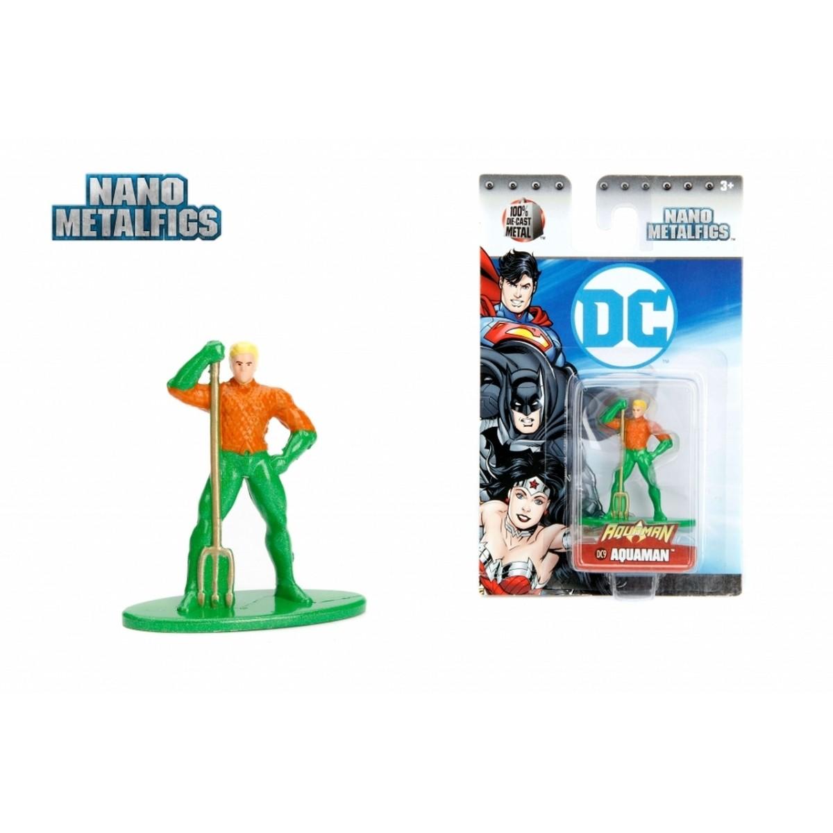 Nano Metalfigs: Aquaman: DC Comics (DC9) - Jada Toys