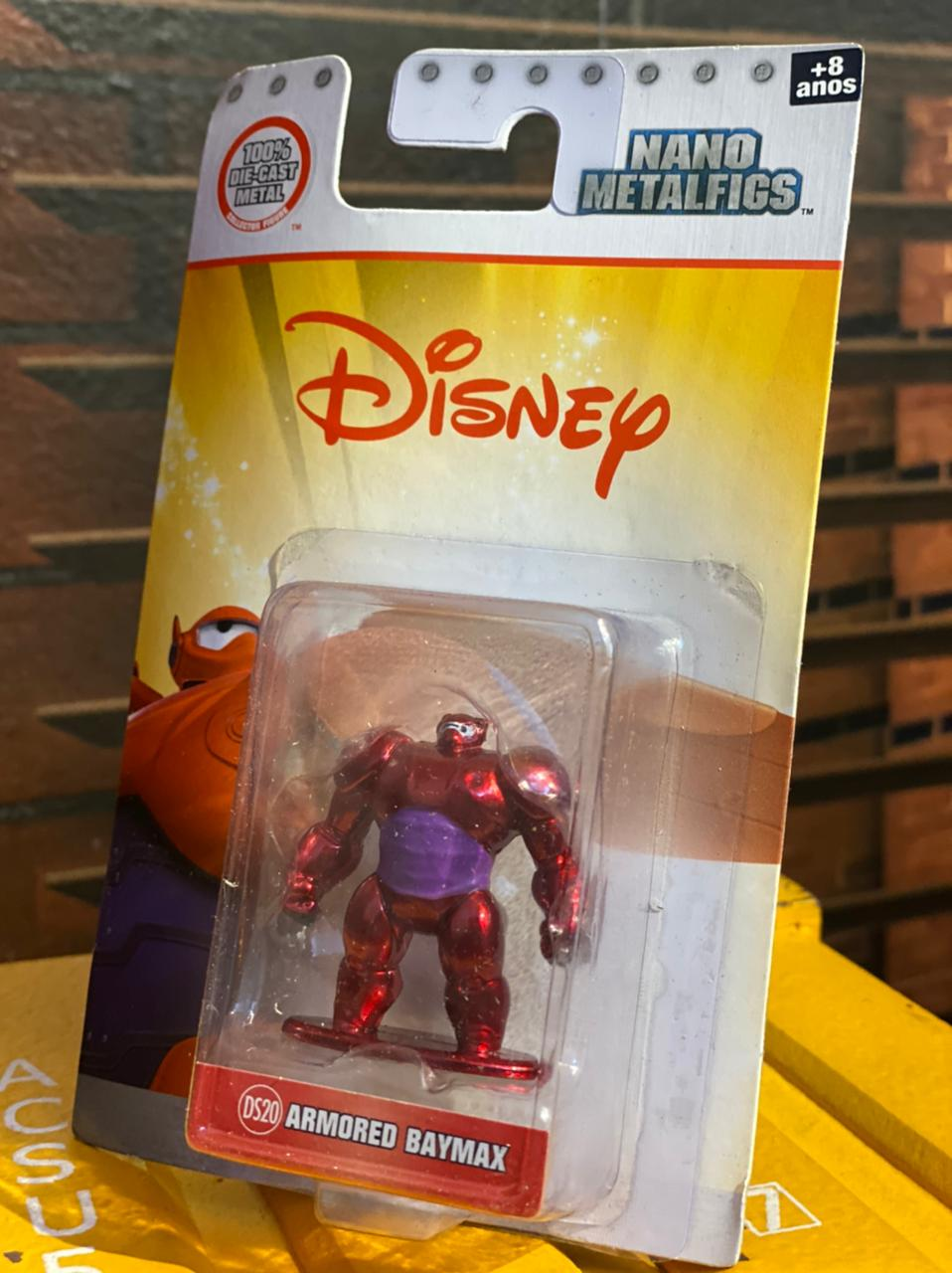 Nano Metalfigs Armored Baymax: Disney (DS20) - Jada Toys