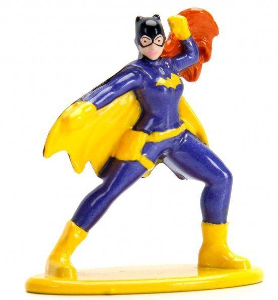 Nano Metalfigs Batgirl: DC Comics (DC42) - Jada Toys
