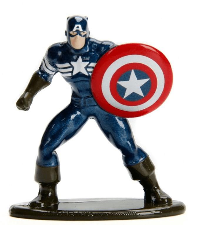 Nano Metalfigs: Capitão América (Stealth Captain America): Marvel (MV44) - DTC