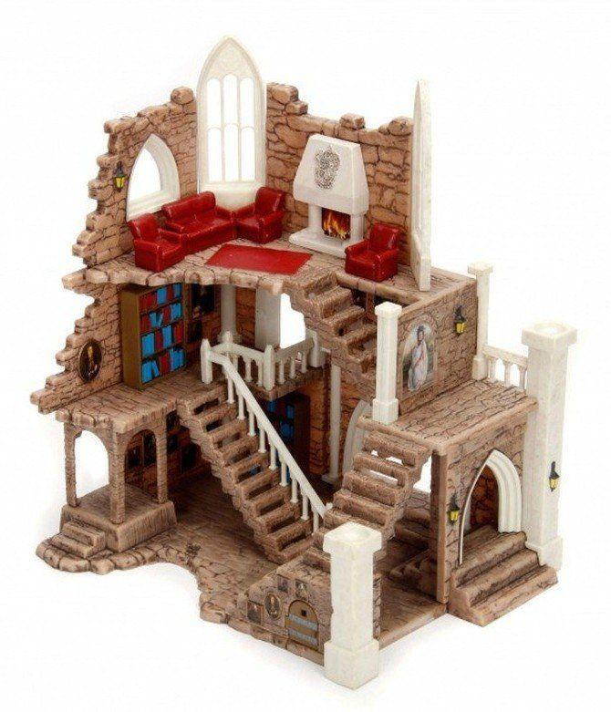 Nano Cenário (Scene): Castelo da Grifnória: Harry Potter - Jada Toys