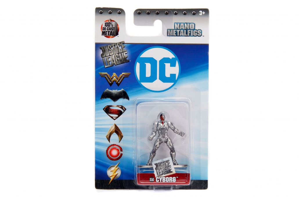 Nano Metalfigs Cyborg: DC Comics (DC60) - DTC