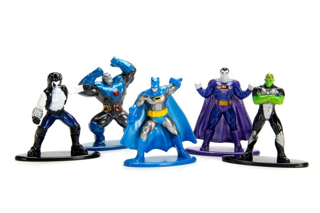 Nano Metalfigs DC Comics Pack C (Set de 5) - DTC