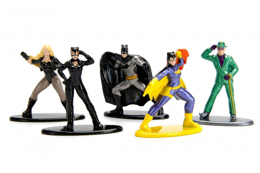 Nano Metalfigs DC Comics Pack D (Set de 5) - DTC