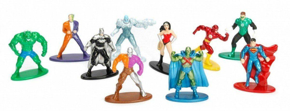 Nano Metalfigs: DC Comics (Set de 10) - Jada Toys