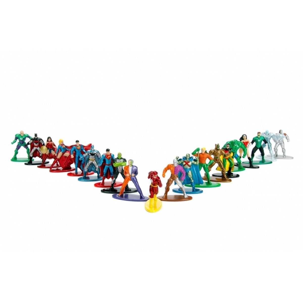 Nano Metalfigs: DC Comics (Set de 20) - Jada Toys