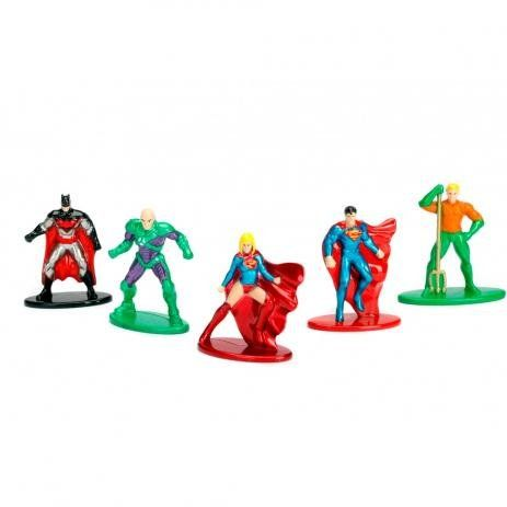 Nano Metalfigs: DC Comics (Set de 5) (Pack B) - DTC