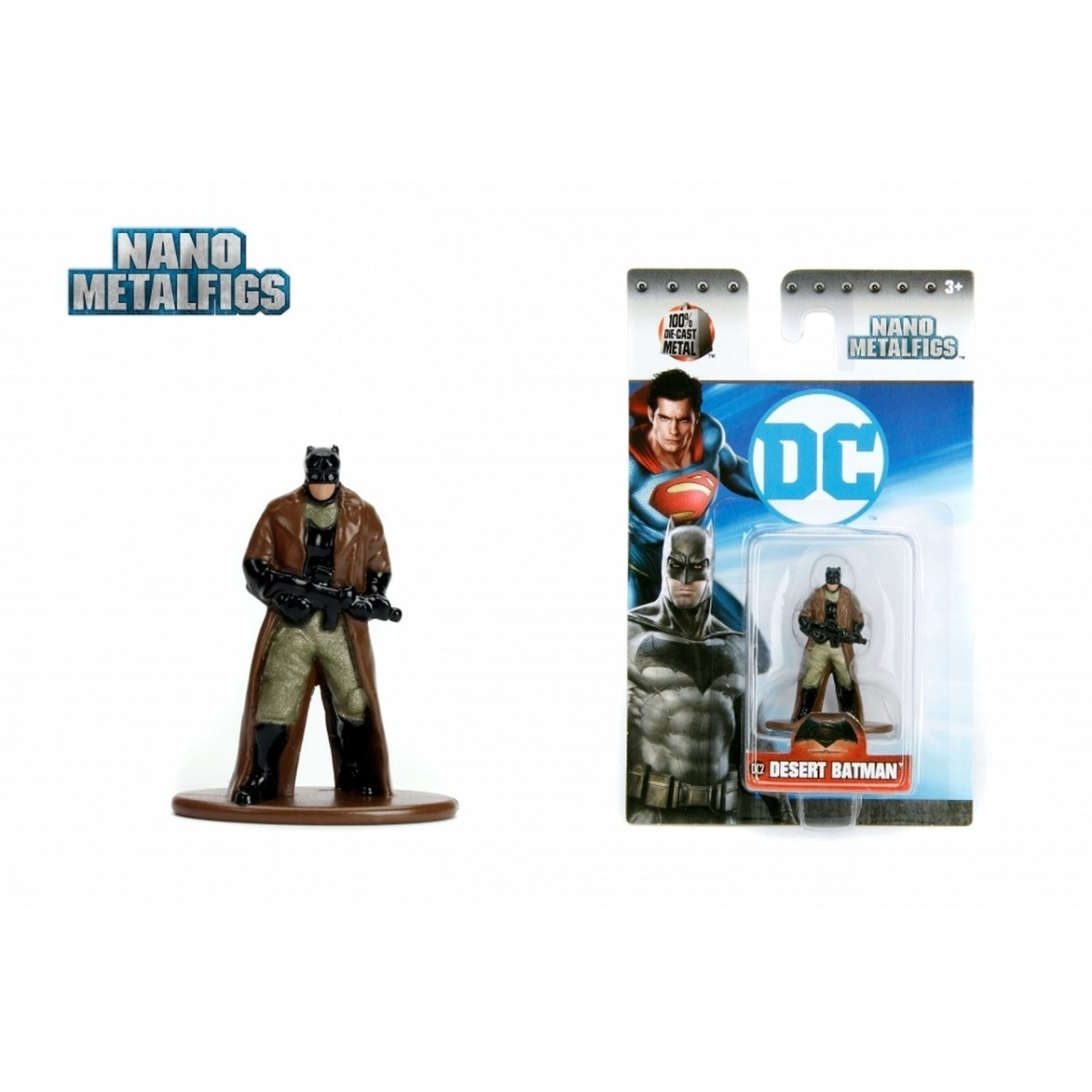 Nano Metalfigs: Desert Batman: DC Comics (DC2) - Jada Toys