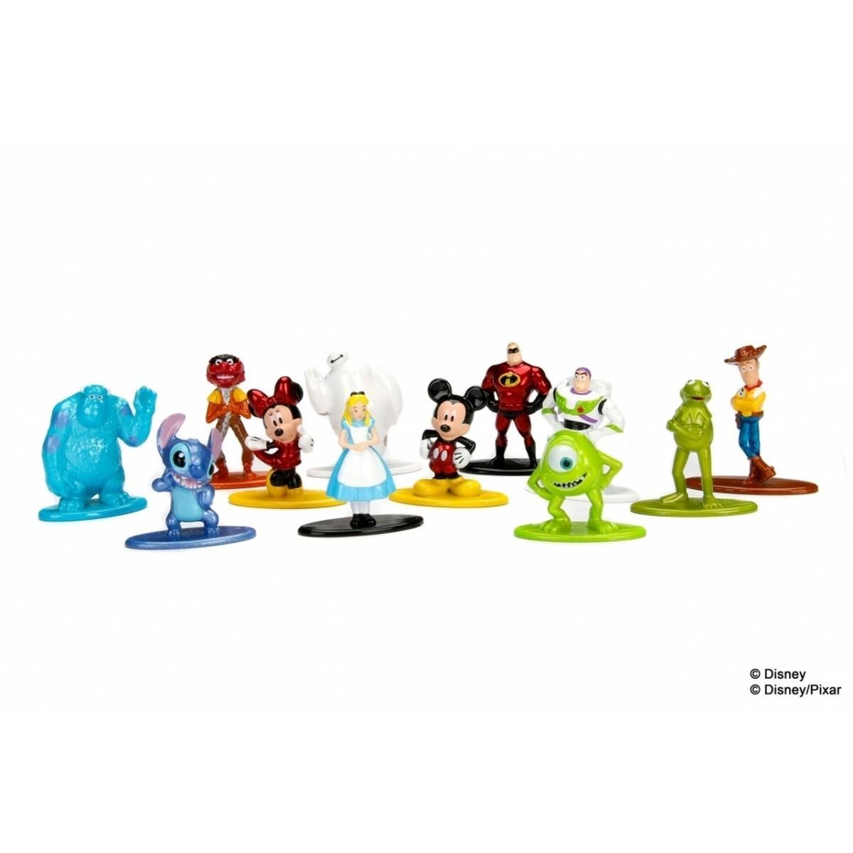 Nano Metalfigs: Disney/Pixar (Set de 10)