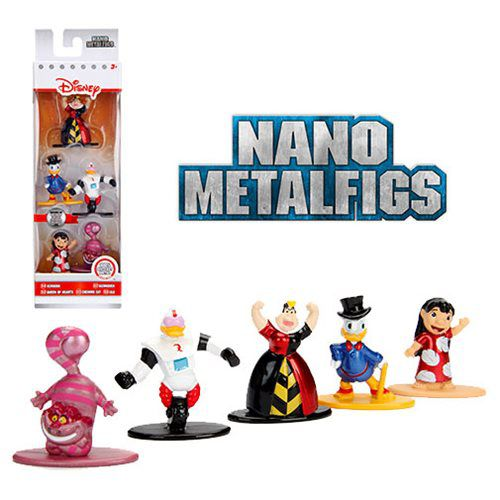 Nano Metalfigs Disney (Set de 5) Pack I - DTC
