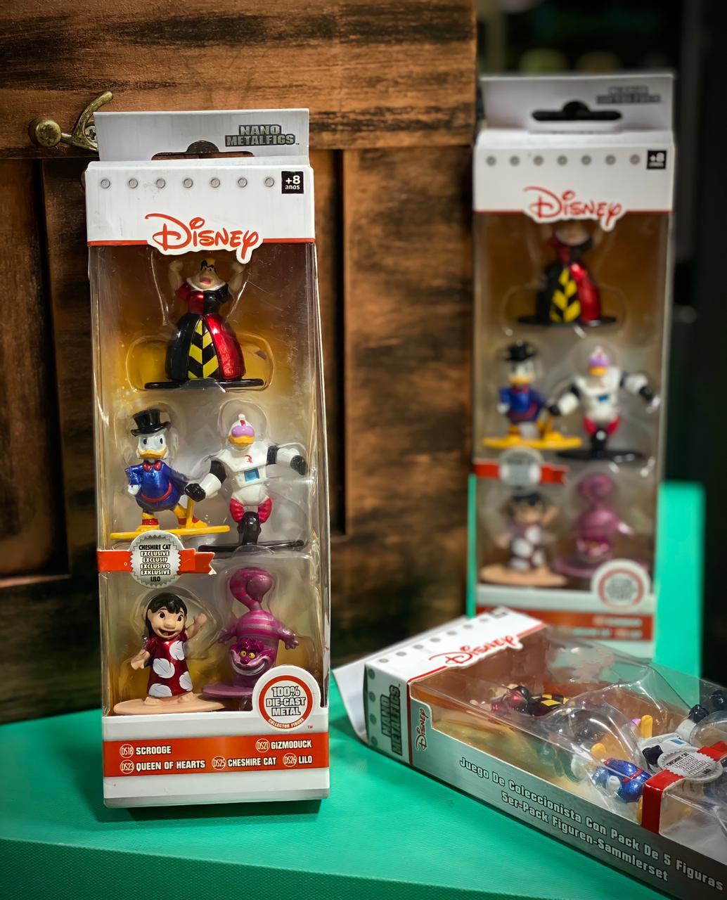 Nano Metalfigs Disney (Set de 5) Pack I - DTC