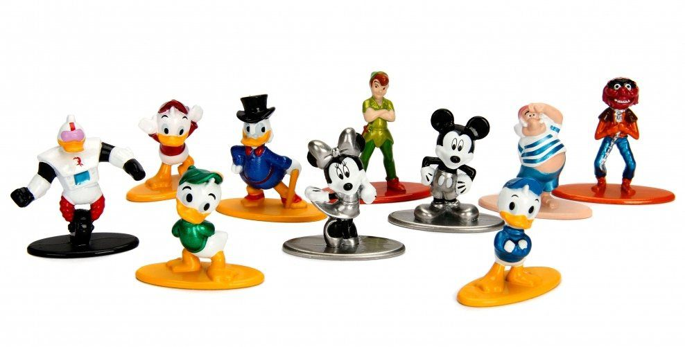 Nano Metalfigs Disney (Wave 2) (Set de 10) - Jada Toys