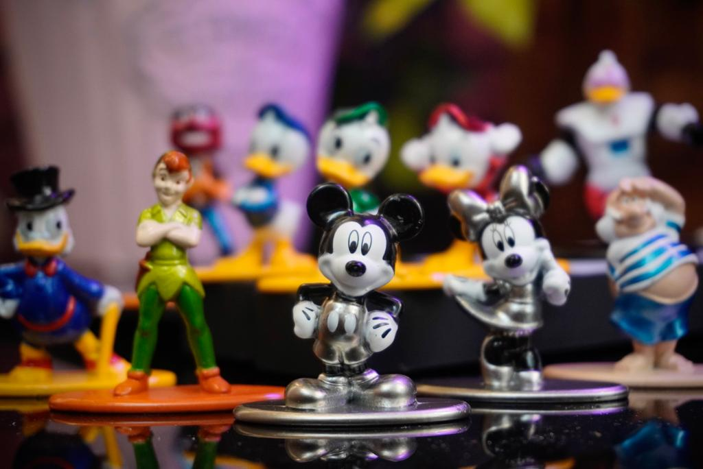 Nano Metalfigs Disney (Wave 2) (Set de 10) - Jada Toys