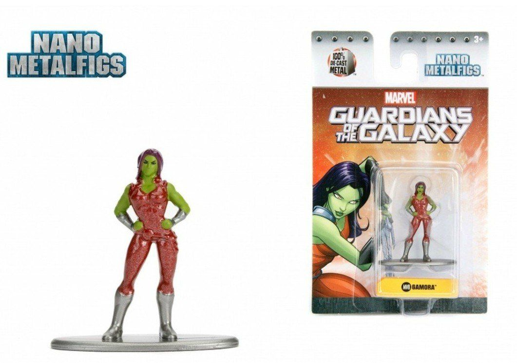 Nano Metalfigs: Gamora: Marvel (MV8)