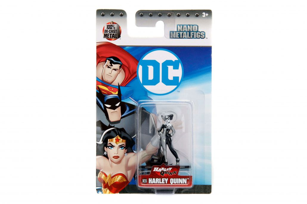 Nano Metalfigs Harley Quinn: DC Comics (DC55) - DTC