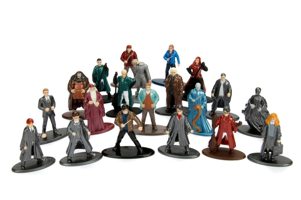 Nano Metalfigs: Harry Potter (Set de 20)