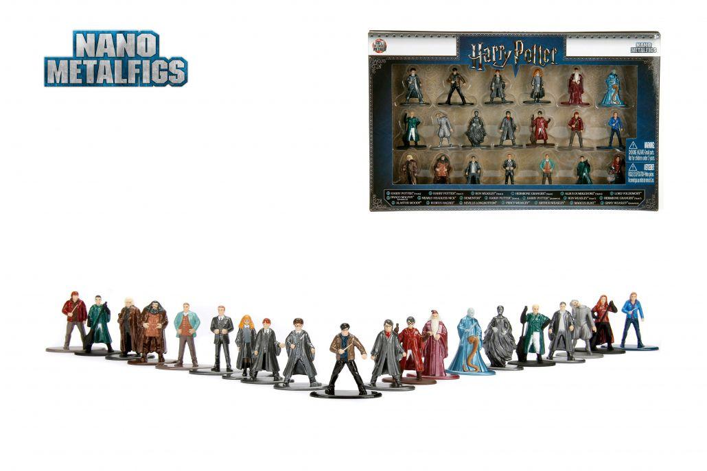 Nano Metalfigs: Harry Potter (Set de 20)