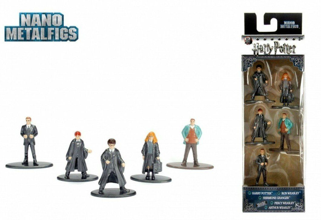 Nano Metalfigs: Harry Potter (Set de 5) - Jada Toys