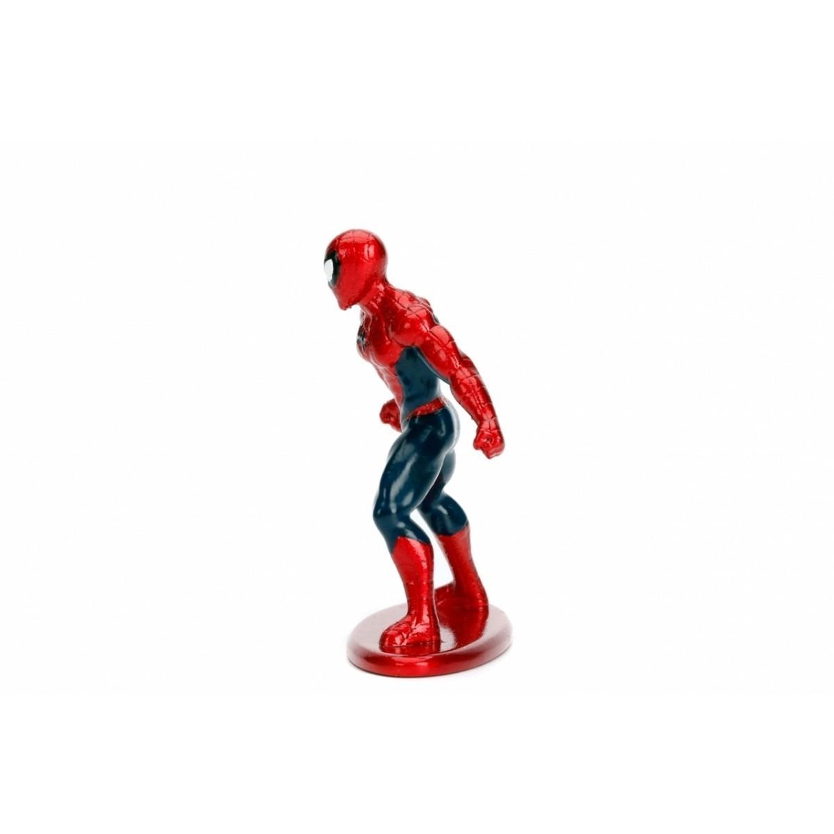 Nano Metalfigs: Homem-Aranha (Spider-Man): Marvel (MV1)