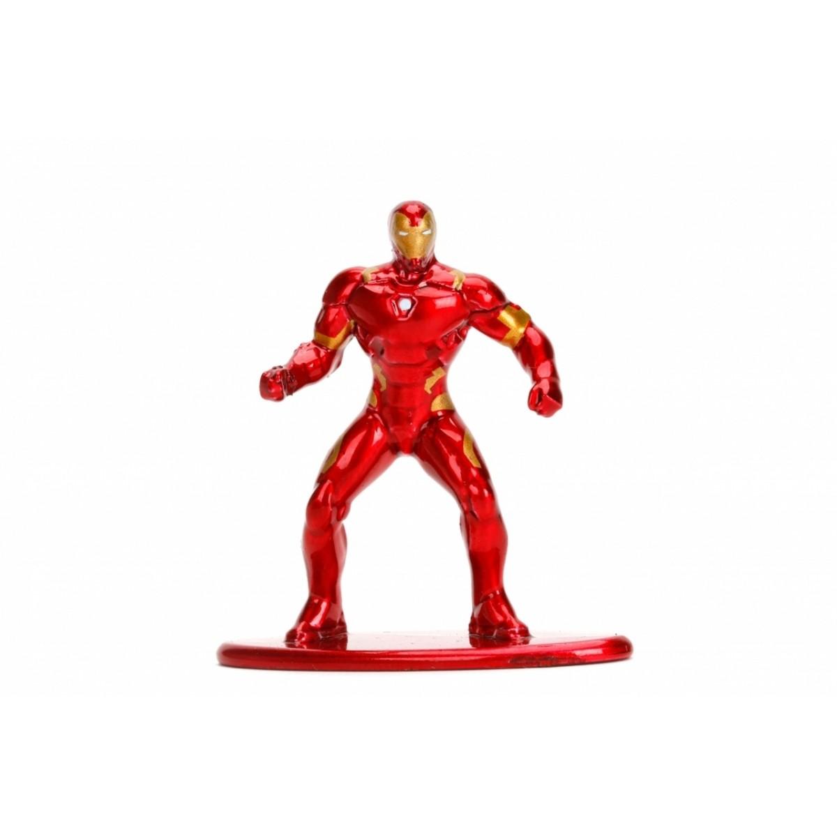 Nano Metalfigs: Homem de Ferro (Iron Man): Marvel (MV9)