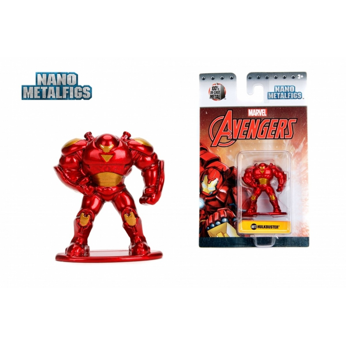 Nano Metalfigs: Hulkbuster: Marvel (MV11)