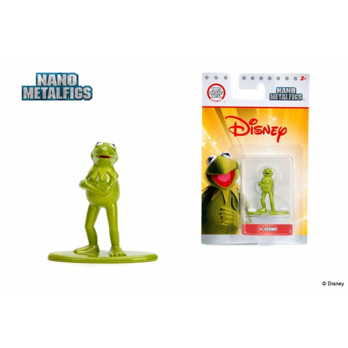 Nano Metalfigs: Kermit: Disney (DS4)